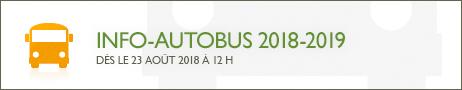 Info-autobus 2018-2019
