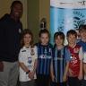 L'athlète Patrice Bernier visite les élèves de l'école De Bourgogne