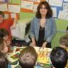 L'auteure Caroline Merola rencontre les élèves de l'école Antoine-Girouard