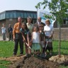 Lancement de la Fête de l'arbre à l'école De La Broquerie
