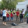 Les élèves bougent à l'école des Trois-Temps!