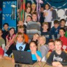 Vidéoconférence entre 3 continents à l'école Le Tournesol