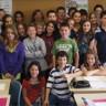 Des élèves de l'école Du Moulin à Sainte-Julie