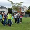 Activité rassembleuse pour la rentrée à l'école du Grand-Coteau