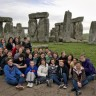 Polybel visite l'Angleterre