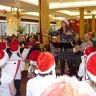 Les élèves du Tourne-Vent chantent pour les personnes âgées