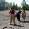 Une brigade de pompiers d'un jour à l'école Le Sablier