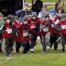 Belle participation de l'école Le Sablier au 43e championnat régional scolaire de cross-country