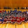 Tournoi amical de minivolley à l'École d'éducation internationale pour des élèves de 5e et 6e années