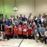 Rencontre familiale de mini-volley à l'école Les Jeunes Découvreurs