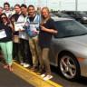 Neuf élèves de l'école secondaire le Carrefour vivront une journée d'initiation au sport automobile