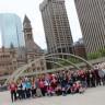 Des élèves de l'école le Carrefour visitent Toronto dans le cadre d'une immersion anglaise