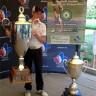 Félix Normand, un élève de l'école secondaire De Mortagne, participera au Championnat de Golf Junior Optimist International en Floride