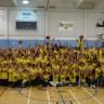 L'école secondaire Polybel invite les élèves du primaire à jouer au basketball