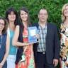 Élodie Malo de l'école secondaire le Carrefour gagne le prix Montérégie au Forum jeunesse Montérégie Est!