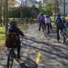 Une randonnée à vélo pour les élèves de l'école du Tourne-Vent