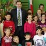 De la grande visite à l'école Saint-Charles!