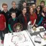 Un village de Noël tout en étincelle réalisé par des élèves de l'école secondaire du Mont-Bruno