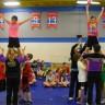 Leçon de cheerleading pour les élèves de l'école De Bourgogne