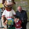 De la belle visite à l'école Carignan-Salières