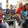 Compétition de robotique à l'école La Farandole