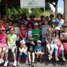 Les élèves de l'école Albert-Schweitzer aux jardins communautaires de Saint-Bruno