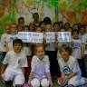 Les élèves et le personnel de l'école De Bourgogne unis contre l'intimidation