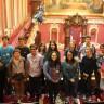 Des jeunes d'Ozias-Leduc visitent l'Assemblée nationale