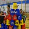 Record Guinness atteint avec l'aide des élèves de l'école De Bourgogne!