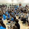 Tournoi de badminton à l'école secondaire de Chambly