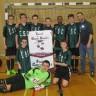 Une bannière pour l'équipe de soccer de l'école secondaire de Chambly