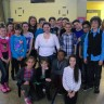 Une athlète paralympique rencontre les élèves de l'école De Bourgogne