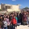 Voyage culturel en Grèce pour les élèves de l'École d'éducation internationale
