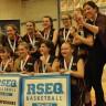 Les Faucons d'Ozias-Leduc consacrée grande championne de la ligue et des finales régionales du RSEQ