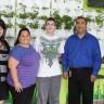 Un jardin vertical à l'école orientante l'Impact