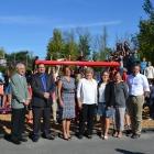 du Parchemin-inauguration parc-ecole