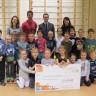 Le député de Borduas remet 1 875 $ à l'école de l'Amitié