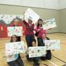 Les élèves de l'école au Cœur-des-Monts remercient la mairesse de Beloeil