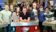Des élèves de Polybel participent à l'émission Encore plus… Génial!