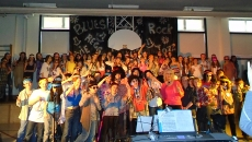 Un spectacle musical haut en couleur et en émotionsà l'école primaire Notre-Dame pavillon 2