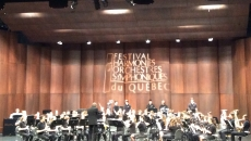 Belle performance des élèves d'Ozias-Leduc au Festival des harmonies à Sherbrooke!