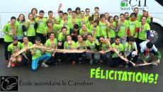 L'école secondaire le Carrefour relève le Grand défi Pierre Lavoie!