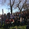 Des élèves de l'école le Carrefour prennent part à la Marche Monde d'Oxfam-Québec
