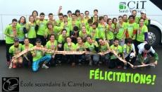 Belle saison pour le Club de course de l'école secondaire le Carrefour