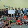 Un généreux soutien pour l'école Jacques-De Chambly