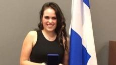 Jade Fleurant récipiendaire de la Médaille du Gouverneur général à l'école Polybel