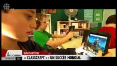 Reportage de Radio-Canada à l'école L'Arpège
