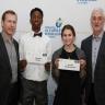 L'école secondaire De Mortagne félicite deux de ses élèves récipiendaires d'une bourse de la Fondation Palestre Nationale