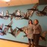 Inauguration de la murale « L'envolée » à l'école de la Passerelle