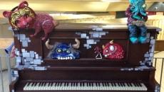 Un piano public à l'école secondaire Ozias-Leduc
